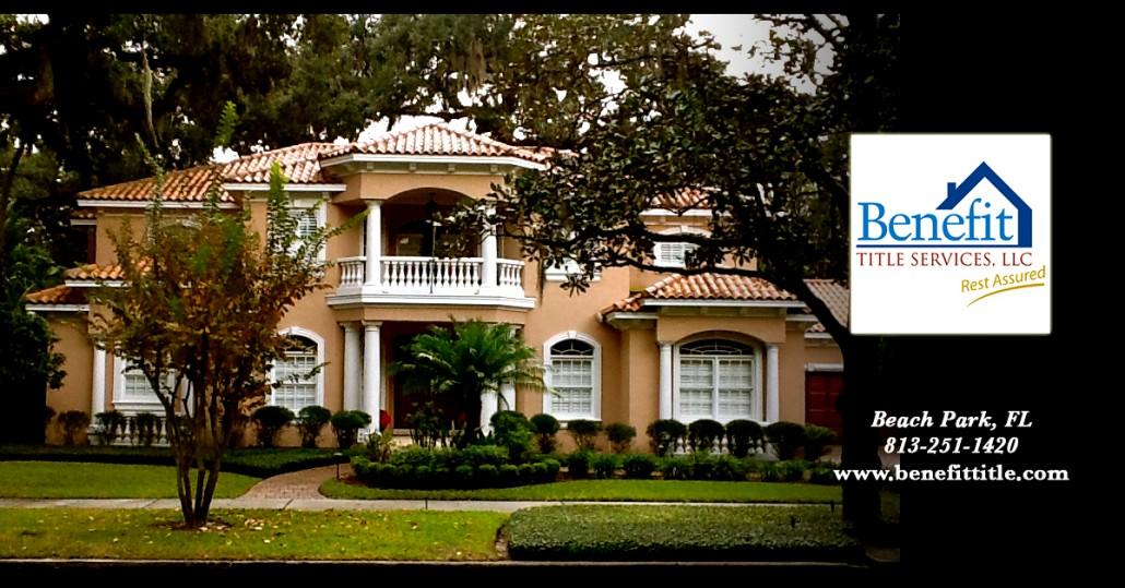 Beach Park Home Benefit Title FL